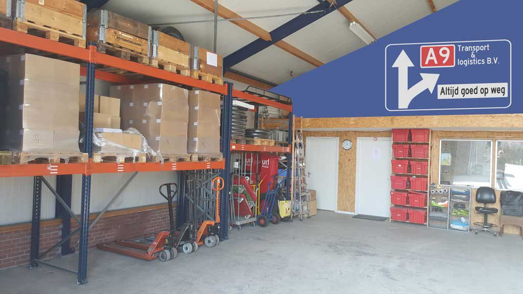 Warehouse near Amsterdam airport